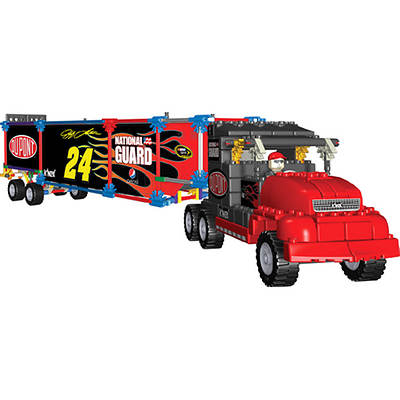 K'NEX NASCAR 24 DuPont Transporter Rig Building Set