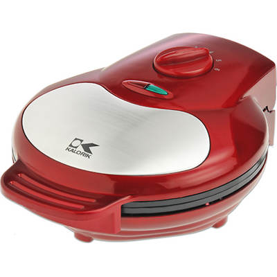 Kalorik Heart-Shaped Waffle Maker - Red