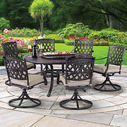 Berkley Jensen Bar Harbor 7-Pc. Cast Iron Dining Set