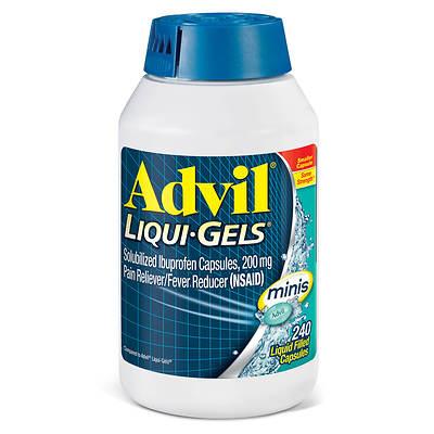 Advil Advil 200mg Liqui-gels Minis, 240 Ct.