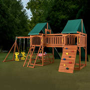 Creative Cedar Designs Sequoia Wooden Playset