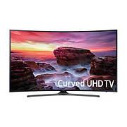 "Samsung UN55MU6490 55"" 4K UHD Curved Smart LED TV"
