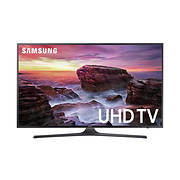 """Samsung UN65MU6290 65"""" 4K UHD Smart LED TV with White Glove Delivery"""