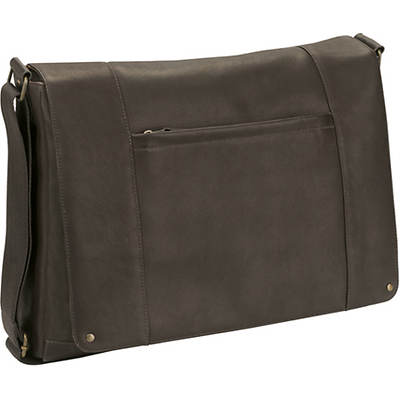 Colombian Leather Laptop Messenger Bag