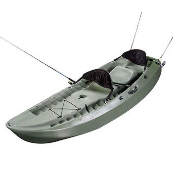 Lifetime Products 10' Sport Fisher Tandem Kayak with Paddles