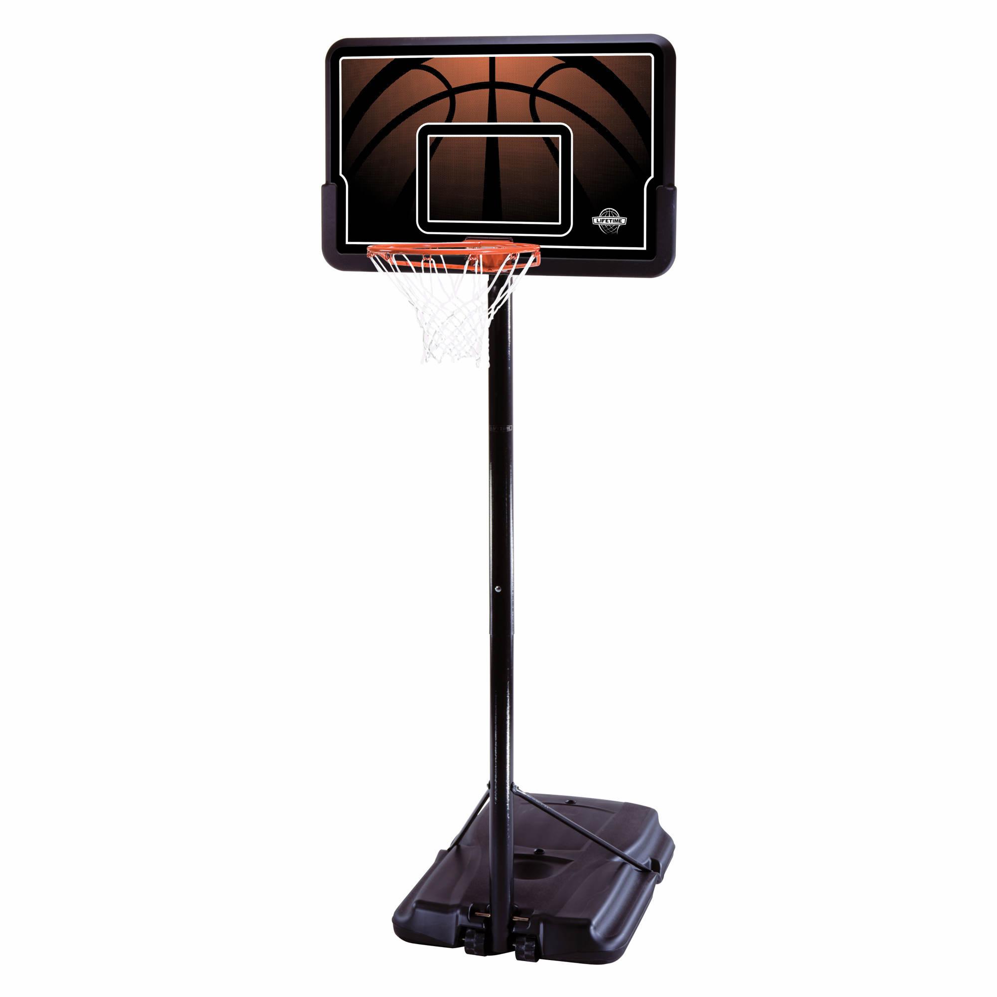 lifetime pro court 44 portable basketball system bj 39 s wholesale club. Black Bedroom Furniture Sets. Home Design Ideas