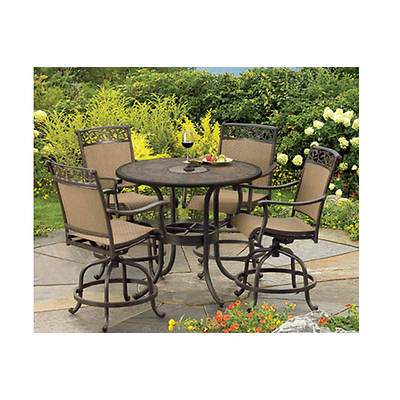 Http Www Bjs Com Living Home Outdoors Canyon 5 Piece Patio Set Bronze Product 171795