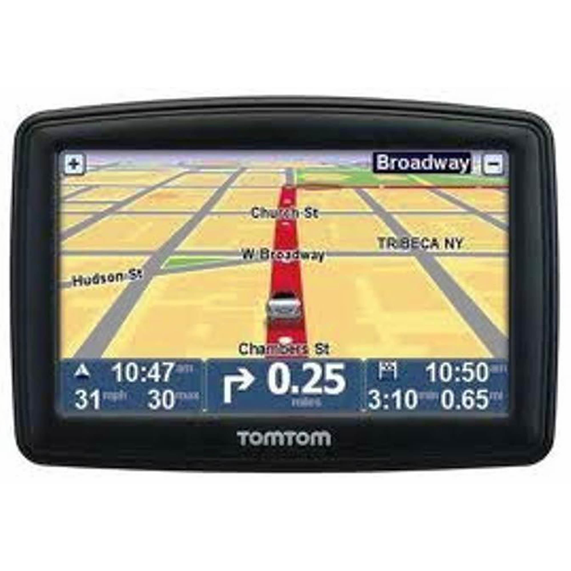 TomTom XL M  GPS Receiver With Lifetime Map Updates BJs - Tomtom xl usa canada map