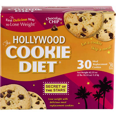 Hollywood Cookie Diet 2-Week Combo Pack