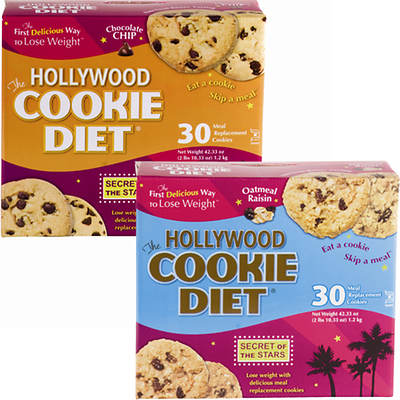 Hollywood Diet Cookie Diet 6-Week Combo Pack
