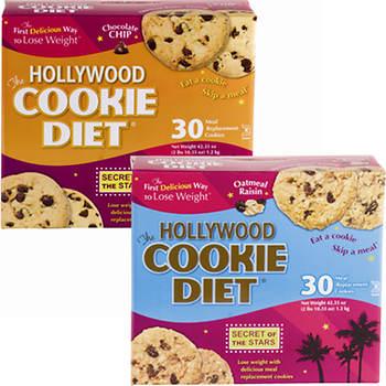 Hollywood Diet Cookie Diet 6-Week Combo Pack