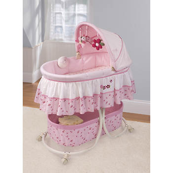 Summer Infant Mother's Touch Soothing Bassinet - Ladybug