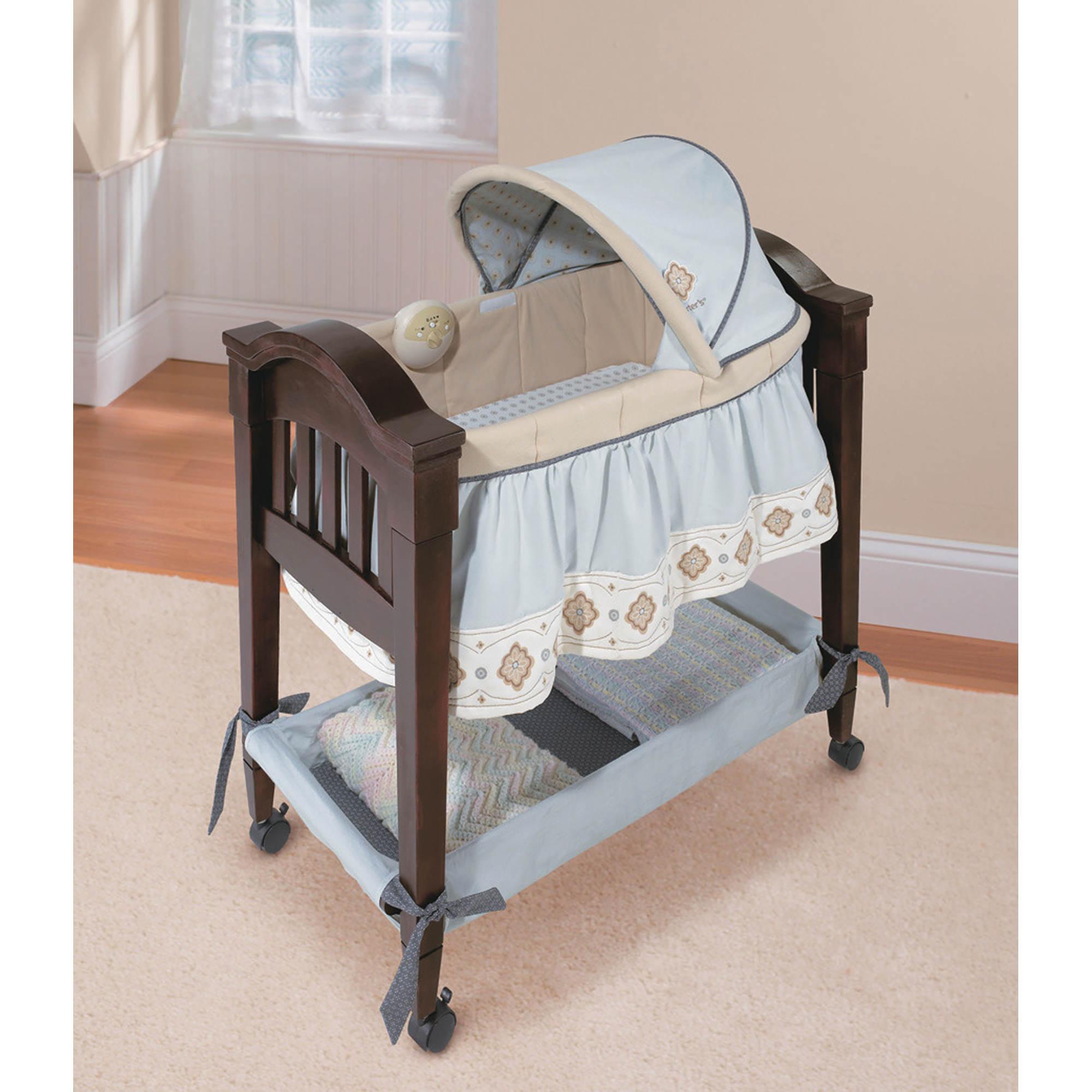 summer infant bentwood bassinet instructions