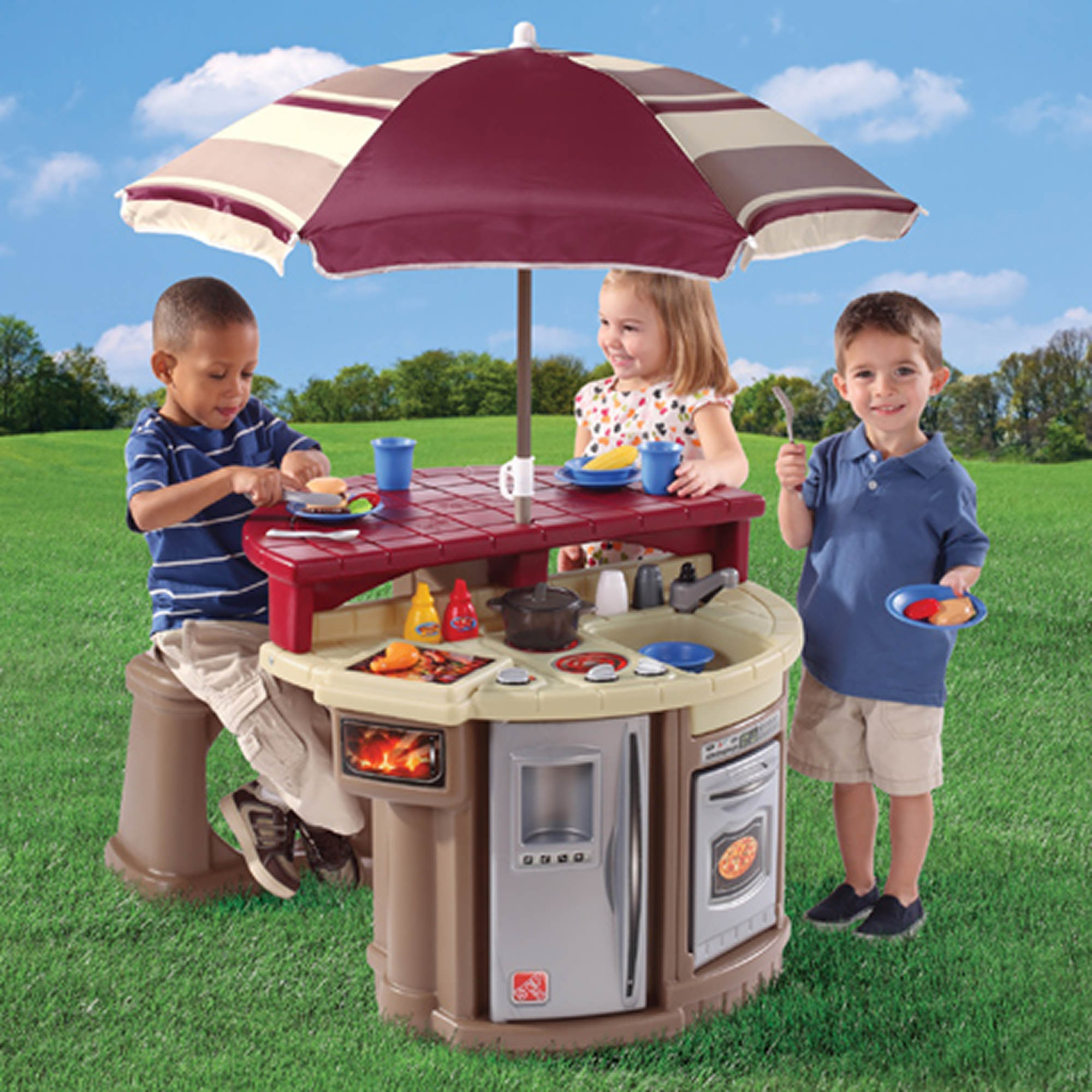 step2 grill and play patio cafe bj 39 s wholesale club