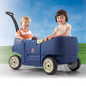Step2 Wagon for Two Plus - Blue
