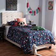 Baxton Studio Brookfield Twin-Size Bed - Beige