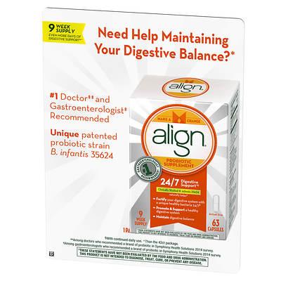 Align Digestive Capsules, 63 Count