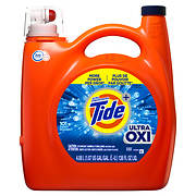 Ultra Concentrated Tide Ultra Oxi Liquid Laundry Detergent, 138 fl. oz