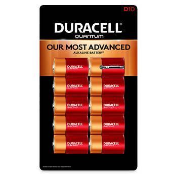 Duracell Quantum D Batteries, 10 ct.