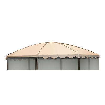 "Replacement Roof for Casita 11'1"" Round Screenhouse, Model 83265 - Almond"
