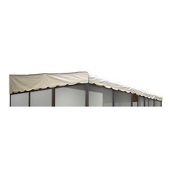 "Replacement Roof for Patio-Mate 19'3"" x 11'6"" Screened Enclosure, Model 19165 - Almond"