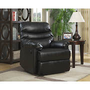 Picket House Furnishings Decklan Faux Leather Power Motion Recliner -