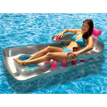 Poolmaster French-Style Pool Float, 2-Pk - Pink