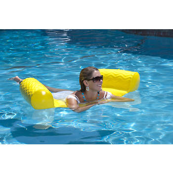 Suncliner Water Hammock - Yellow by Texas Rec