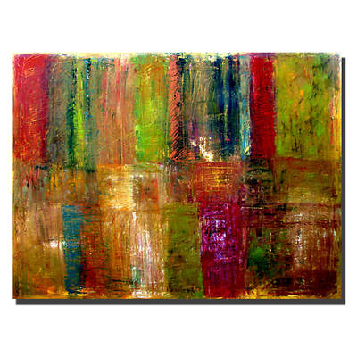 "Color Panel by Michelle Calkins Gallery-Wrapped Giclee Print, 18"" x 24"""