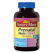 Nature Made Prenatal Multi + DHA Liquid Softgel Multivitamin, 150 ct.