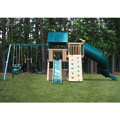 Congo Explorer Tree House Climber Maintenance-Free Swing Set