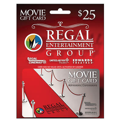 Regal Cinemas $25 Gift Card