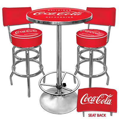 Delicious Refreshing Coca-Cola Ultimate 3-Piece Game Room Combo