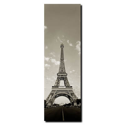 "Tour de Eiffel by Preston Gallery-Wrapped Giclee Print, 6"" x 19"""