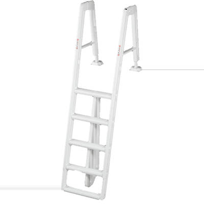 "Ocean Blue 42""-56"" In-Pool Aboveground Pool Ladder"