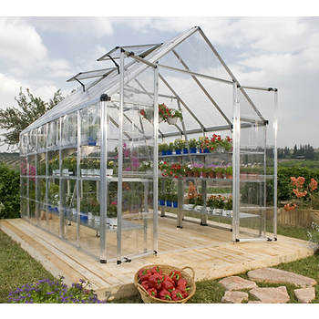 Palram Snap & Grow 8' x 20' Hobby Greenhouse - Silver