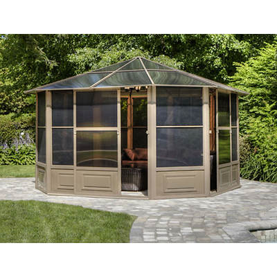 Four Seasons 12' x 12' Screenhouse - Sand/Smoke