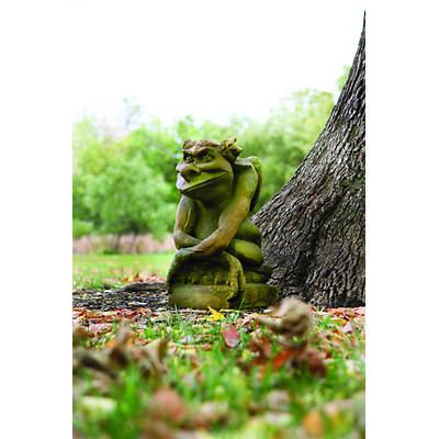 "19 1/2"" Fiber Stone Oscar Garden Statue - Verde"