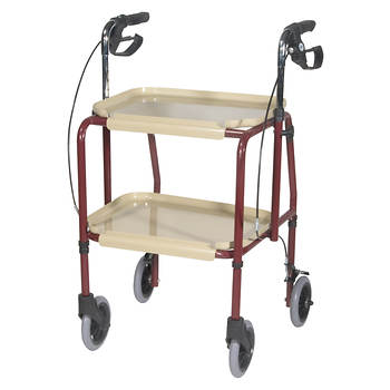 Drive Medical Handy Utility Trolley with Hand Brakes