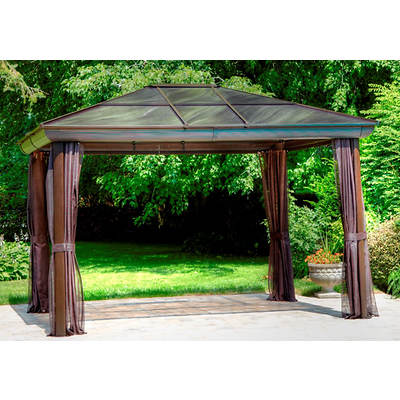 Four Seasons 10' x 12' Gazebo with Screening