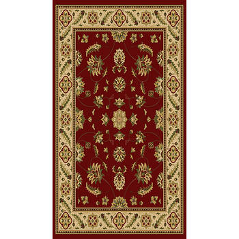 Hampton Kazmir 7'10 x 9'10 Traditional Rug - Red