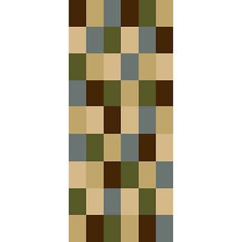 Hampton Mosaic 3'3 x 5'3 Rug - Multicolor