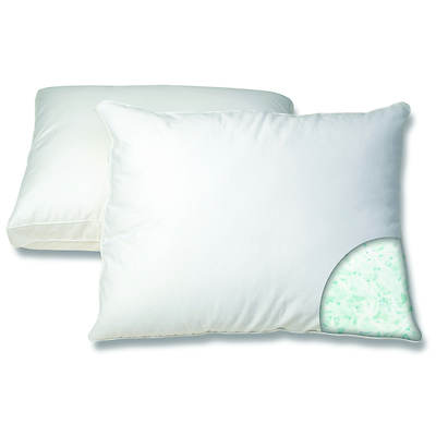 Gel Memory Foam Comfort Pillow, 2-Pk