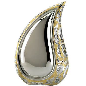 Star Legacy Teardrop of Love Large/Adult Urn - Silver/Gold