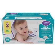 Berkley Jensen Ultra Absorbent Diapers, Size 2, 112 ct.