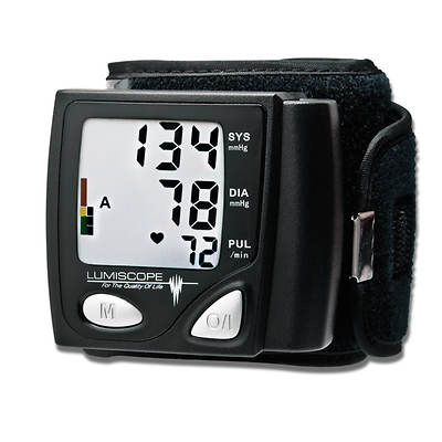 Lumiscope Automatic Wrist Blood Pressure Monitor