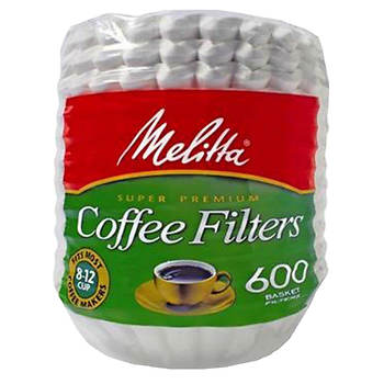 Melitta Basket Coffee Filters, 600 ct.