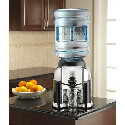 Primo Tabletop Bottled Water Dispenser - Black/Chrome