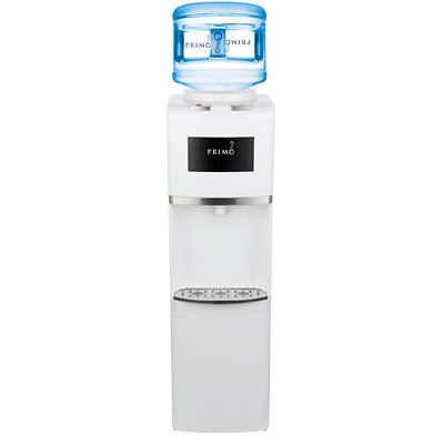 Primo Top-Loading Bottled Water Dispenser - White/Chrome
