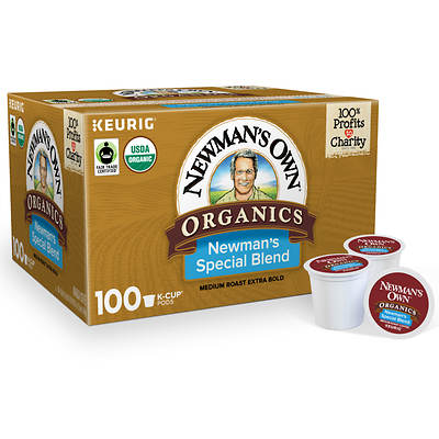 Newman's Own Organics Newman's Special Blend Coffee, 80 K-Cups